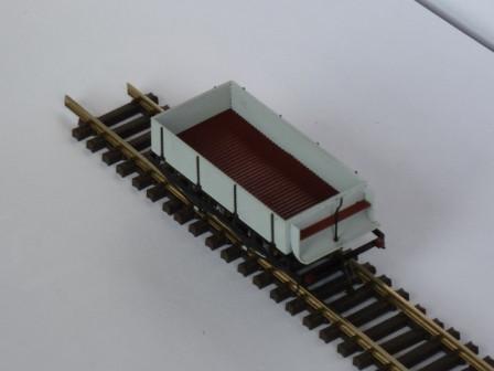 Gütenwagen mit Bremsenhaus